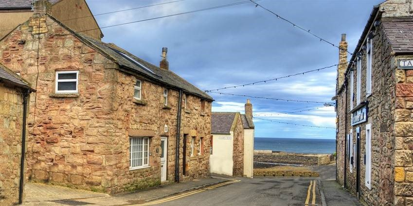 Seahouses cottage